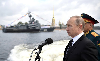 Vladimir Putin. Speech at the Main Naval Parade in St. Petersburg.