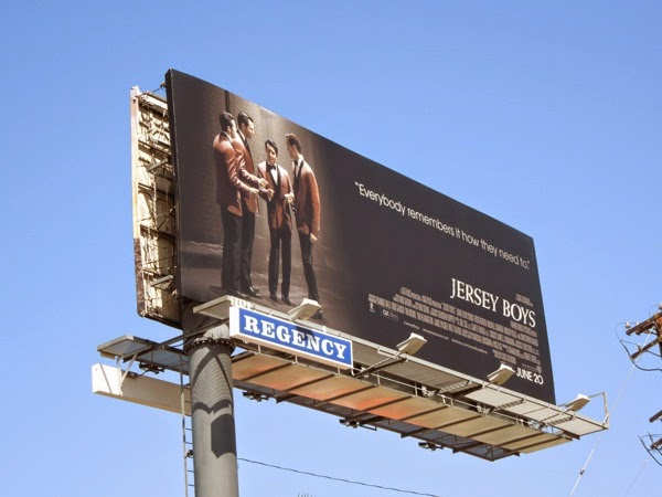 Jersey Boys film billboard