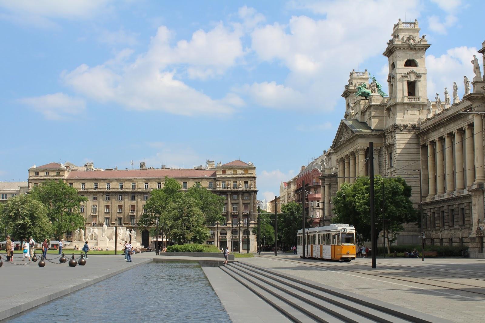 Tram in Budapest