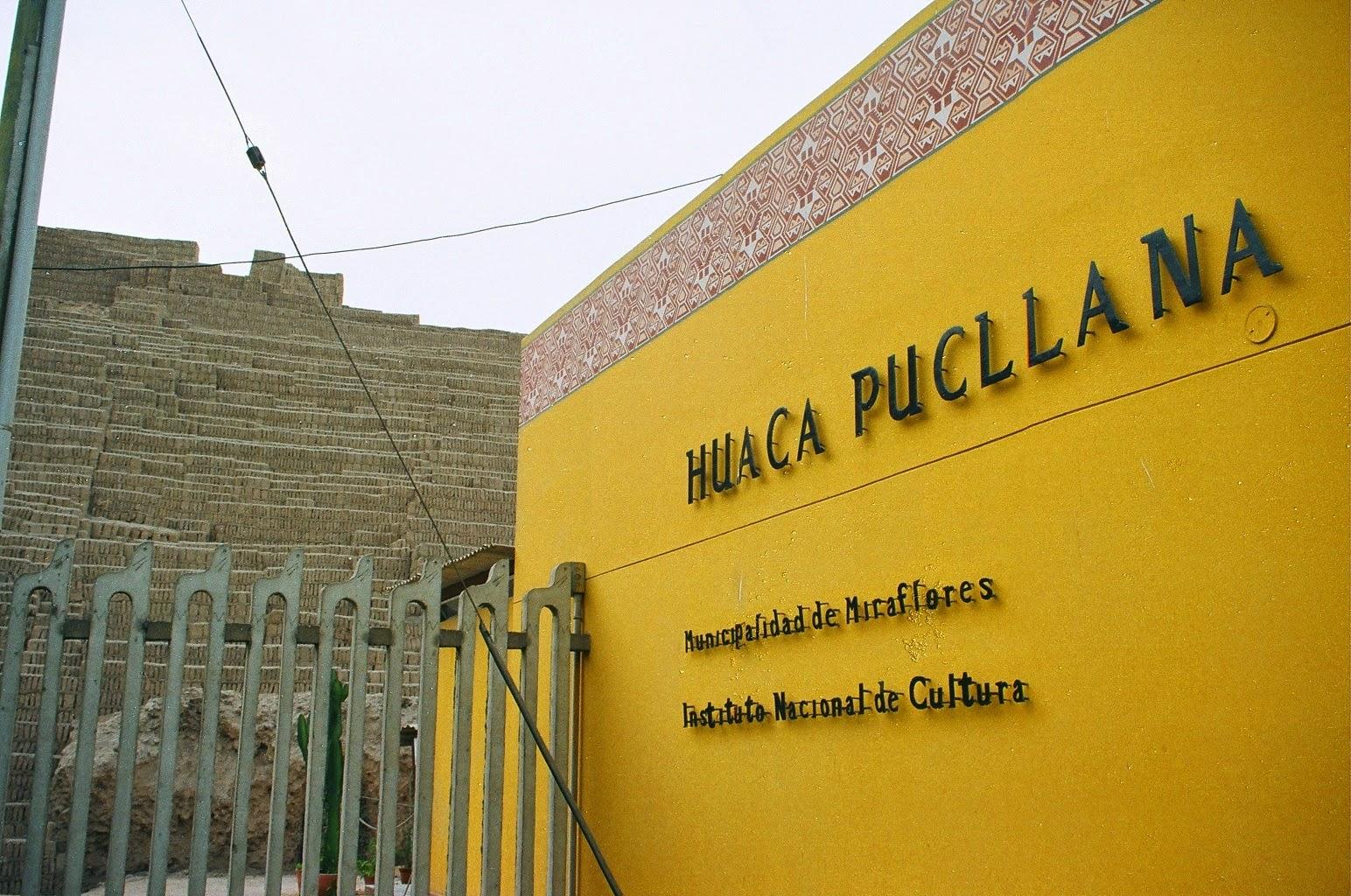 Huaca Pucllana em Lima