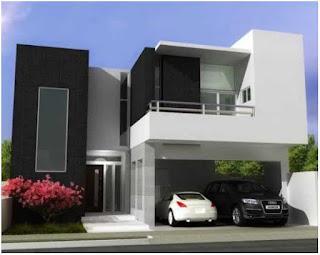 warna cat depan rumah yang elegan