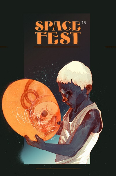 """Space Fest"" by Patryk Hardziej, 2016 