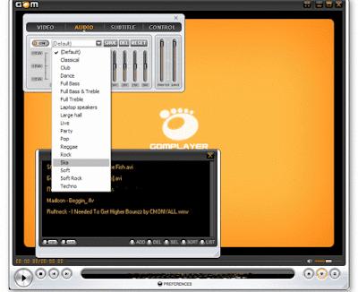ميزات برنامج  Gom Player