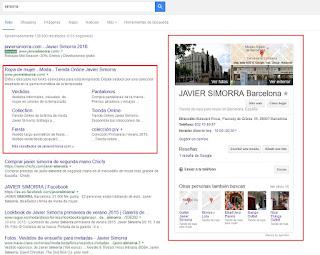 Google - busqeda x marca con resultados orgánicos y geográfico