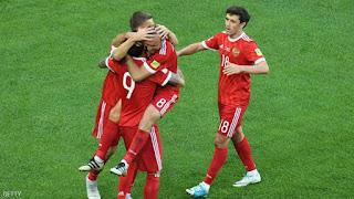 روسيا تفوز على نيوزيلندا ممثلة أوقيانيا 2-صفر في افتتاح كأس القارات 2017