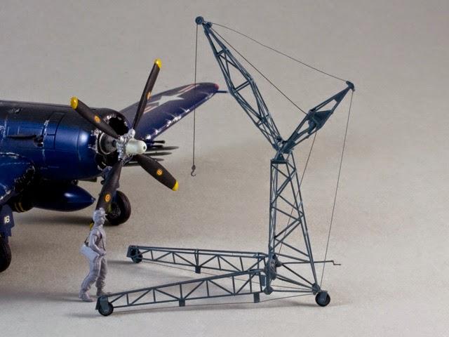 fmodels site    aircraft maintenance crane model