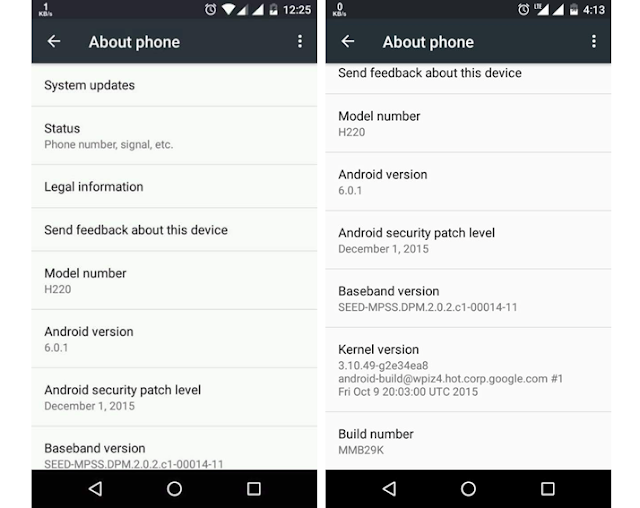 Android 6.0.1 become available for Android One