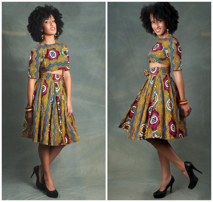 Latest Ankara Pleated skirt styles (6)