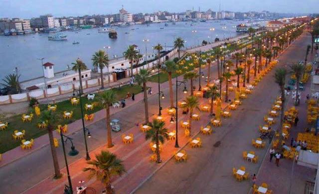 شوارع مصيف رأس البر