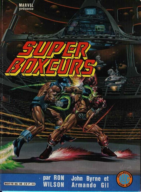Super Boxeurs BD Lug de Ron Wilson et John Byrne