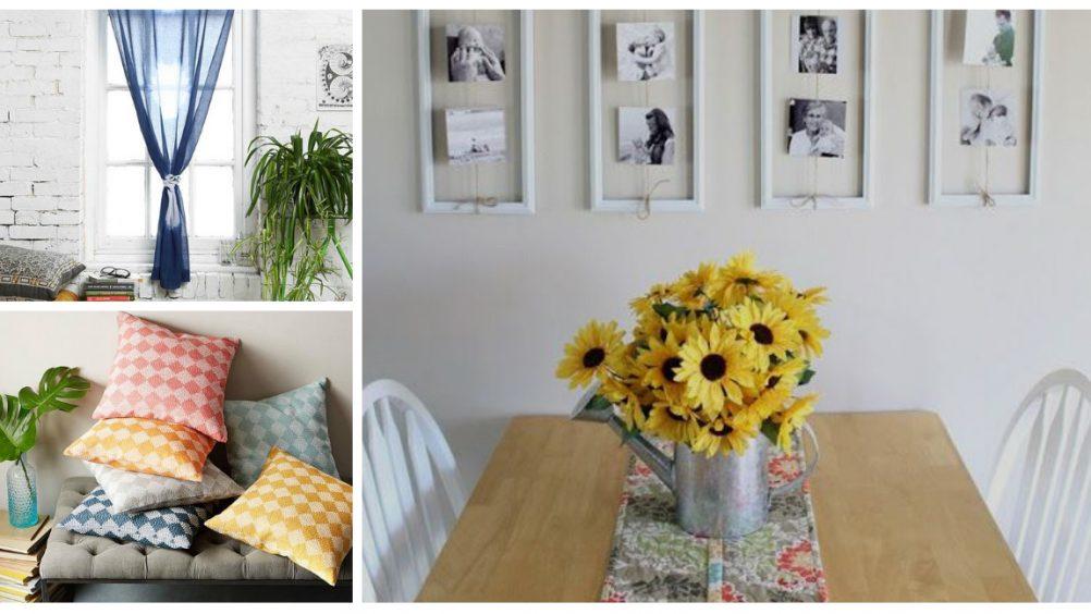 Para deixar o lar mais colorido, uma boa dica é espalhar flores pelos ambientes