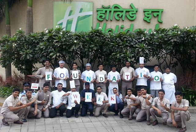 IHG Foundation week celebrations at Holiday Inn Mumbai