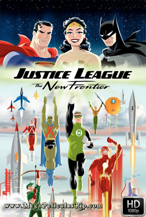 Liga De La Justicia: La Nueva Frontera [1080p] [Latino-Ingles] [MEGA]