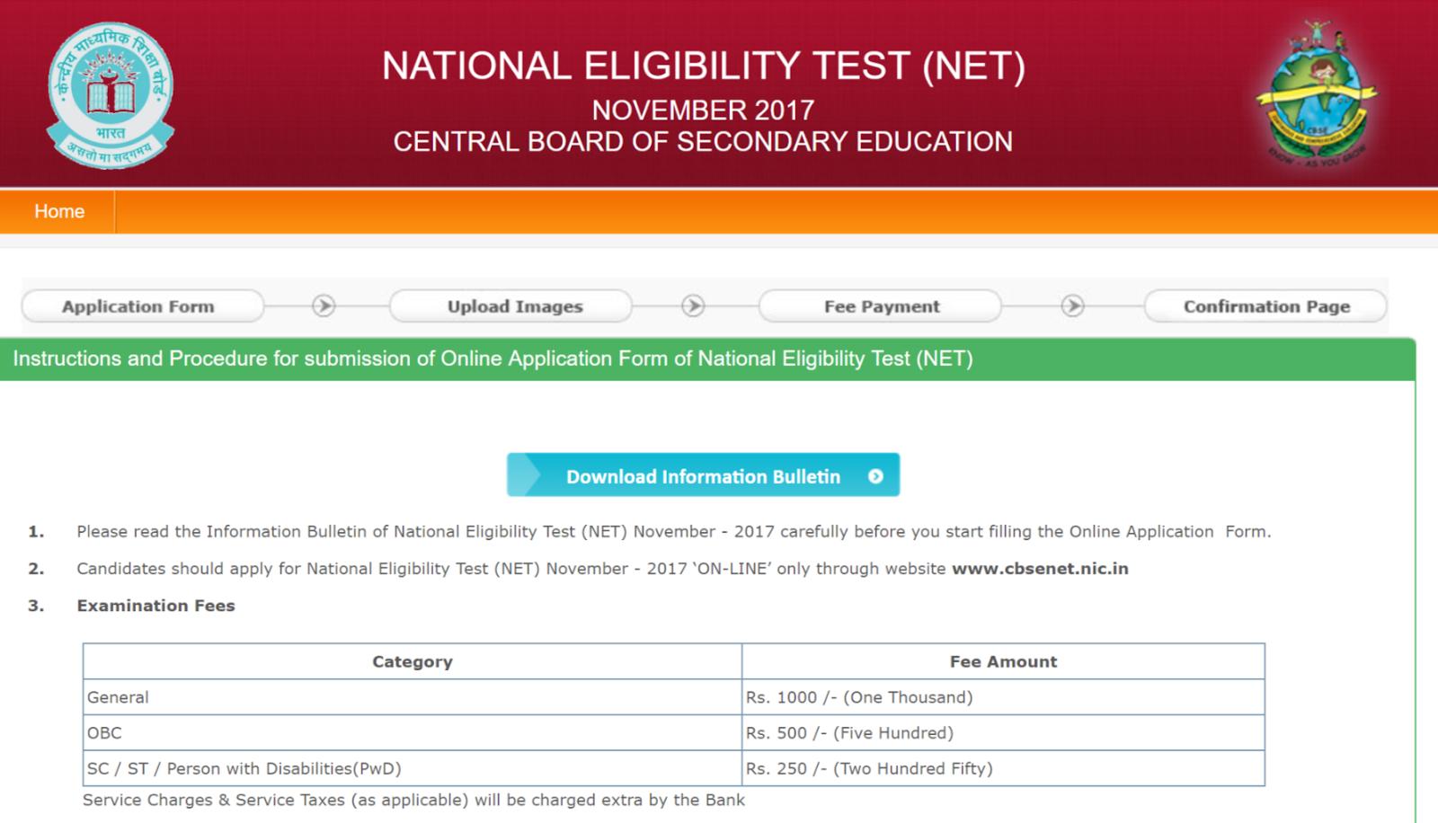 Ugc net online application last date in Melbourne