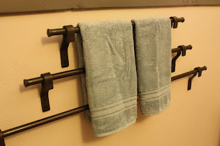 awesome eco-friendly 6th anniversary gift towel rack