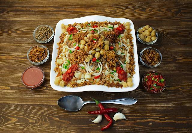 エジプト料理「コシャリ」は国民食