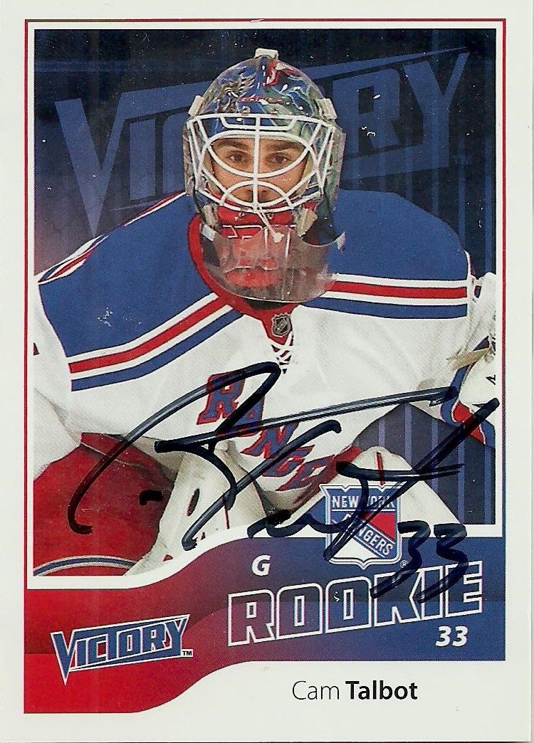 Hell's Valuable Collectibles: Cam Talbot: Two Autographed