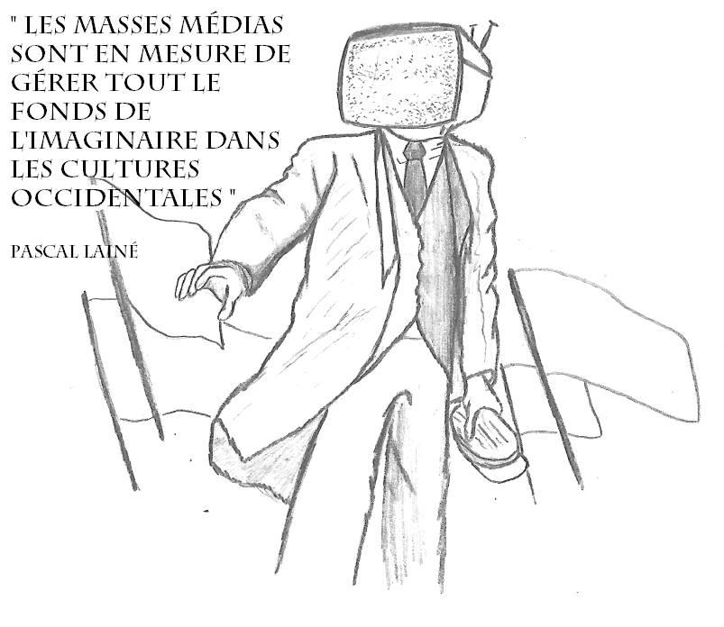homme à tête de télévision