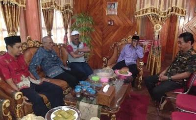 Anggota ORARI Lokal Bone, Sinjai dan Soppeng Silaturahmi ke Mantan Ketua ORARI Lokal Bulukumba dan Sinjai