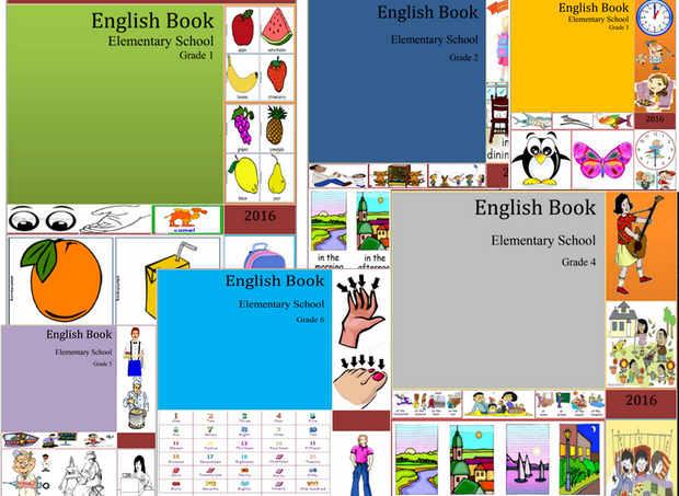 Buku Bahasa Inggris SD Kelas 1, 2, 3, 4, 5. 6 PDF