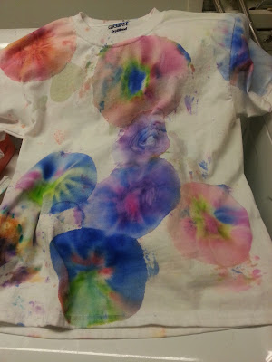 easy to do tie-dye shirts