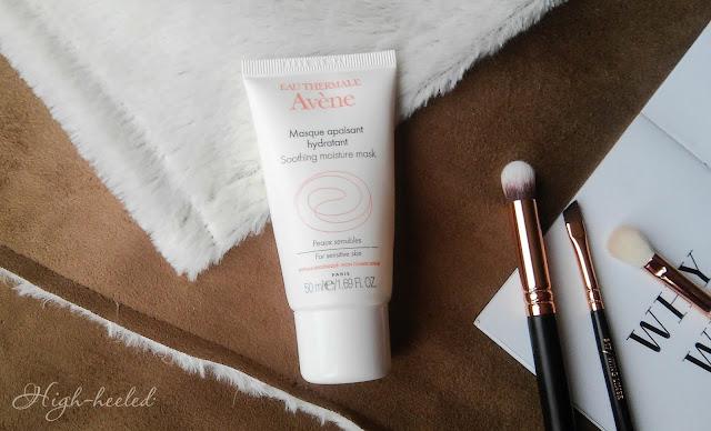 AVENE Masque apaisant hydratant - успокаивающая и увлажняющая маска для лица