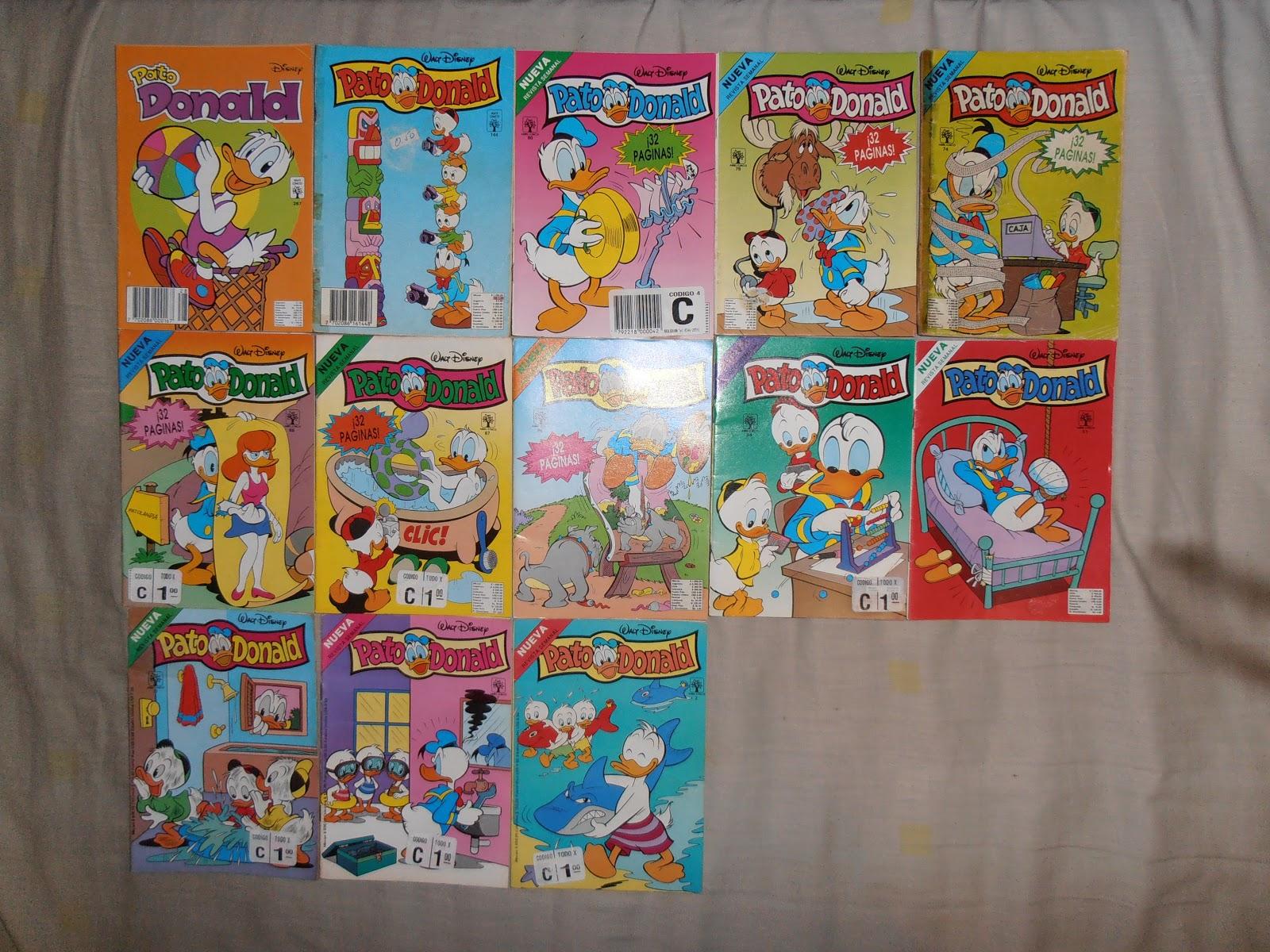 Mundo Fede: Un repaso a los comics de Disney editados por Abril ...