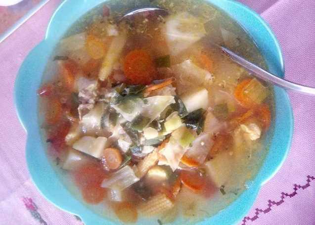 Resep masak Sayur Sop Ayam segar Nikmat