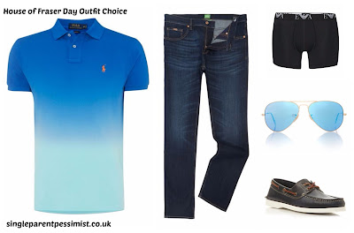 How I'd Dress The Bloke For The Day (If He Ever Let Me!)