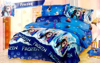 Seprei Motif Frozen Untuk Anak