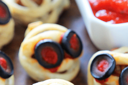 Easy Fun Meatball Mummies For Halloween Parties
