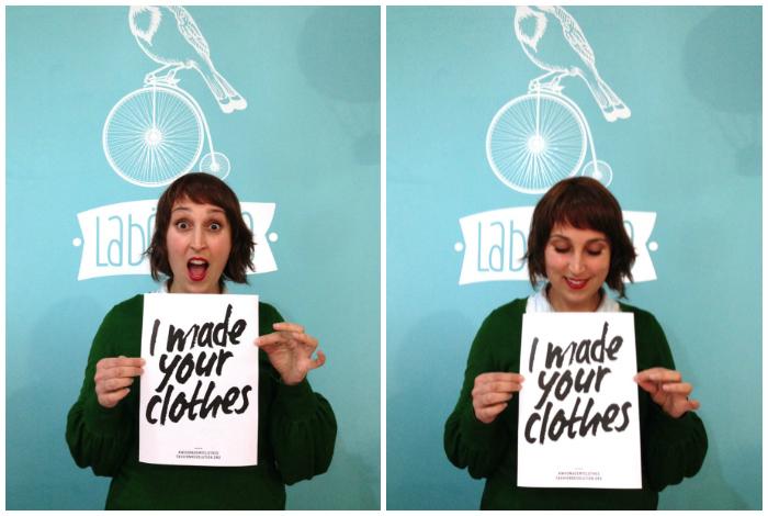 ¡Yo hice tu ropa! Fashion Revolution Day