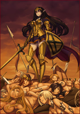 Queen's Blade Battle: Queen's Blade Rebellion Illustrated ...