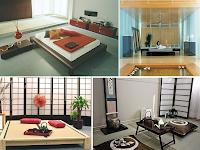 Desain Interior Ruang Tamu Gaya Jepang Minimalis Modern