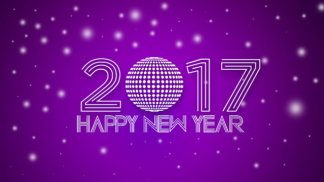 new year 2017 full width wallpaper, images, photos picture to wish friends and family