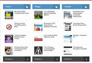 Sitemap blog keren