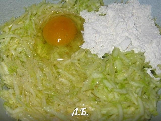рецепт оладья из кабачков пошаговый рецепт с фото
