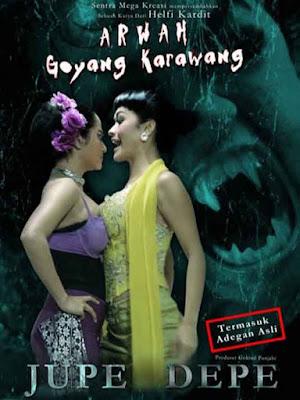 Poster Film Arwah Goyang Karawang