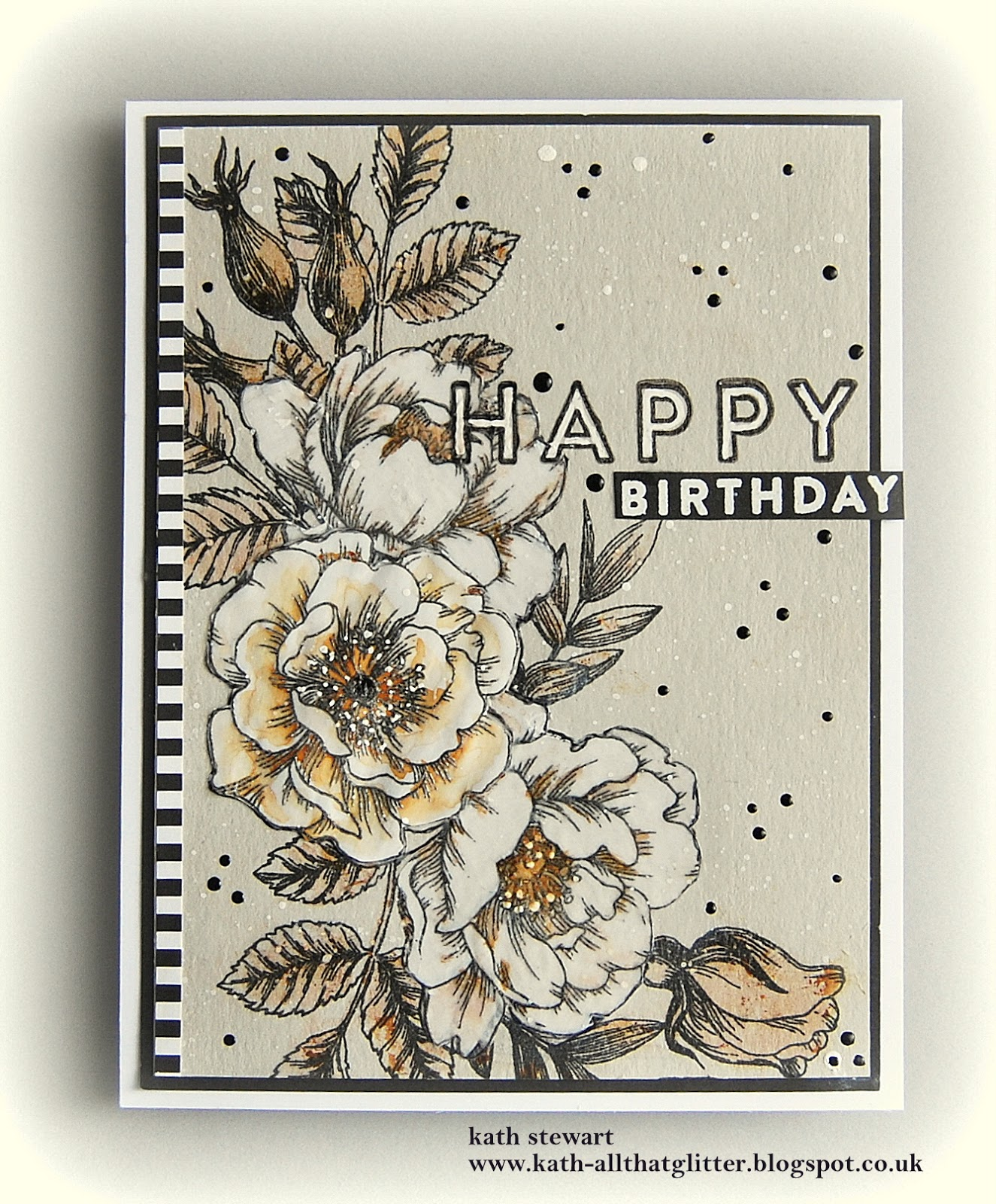 Kaths blogdiary of the everyday life of a crafter beautiful hi folks im sharing another card using the gorgeous beautiful flowers stamp set from simon says stamp fly me away june card kit but with a little twist izmirmasajfo