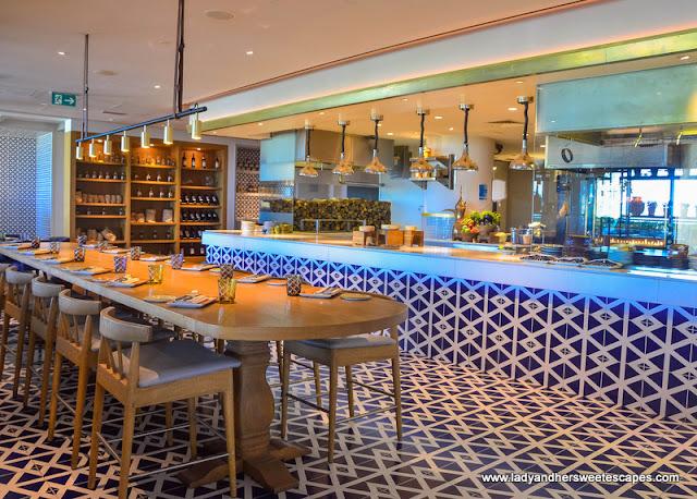 Al Maeda restaurant in Doubletree by Hilton Jumeirah Beach