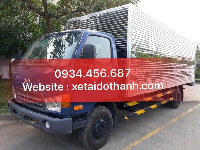 Giá hyundai HD120sl 8 tấn thùng kín dài 6m2