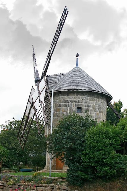 Le Moulin de Crec'h Olen, Lieu dit Le Yaudet