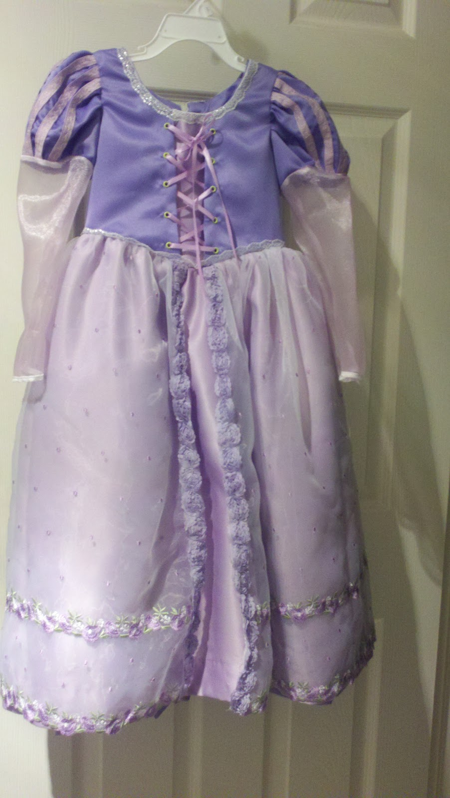 ... I get settle actually post all of the picture for the Rapunzel Dress that I made for a friends daughter. But until then here is the finished project. & That is all it took...: Rapunzel Dress - Simplicity 2065