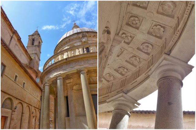 El Tempietto de Bramante en el Gianicolo en Roma