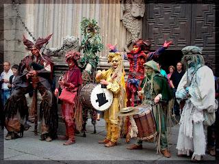 Actuación medieval