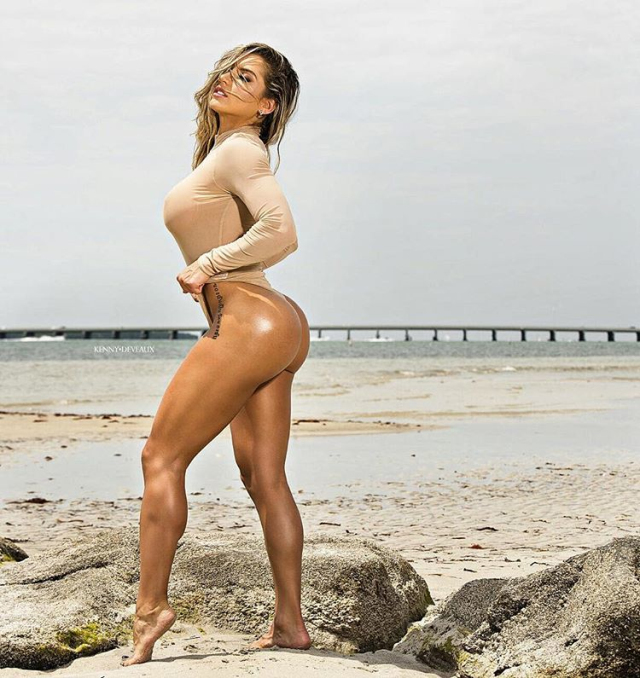 Fitness Model Vanessa Mejia