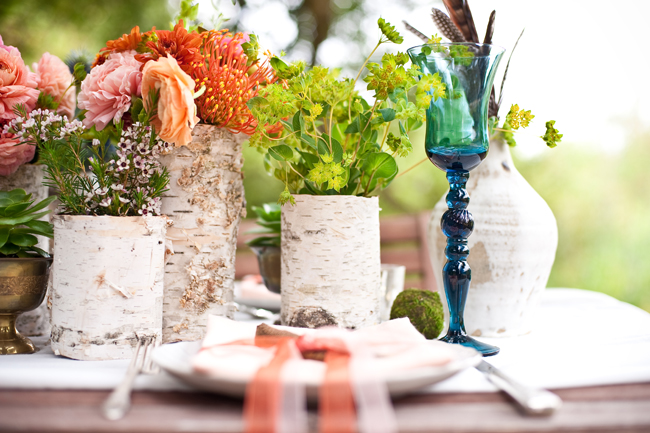 Vase Wedding Decoration Ideas: Life Of A Vintage Lover: Birch Bark DIY