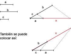 Geometría para Julia: Proporcionalidad I. Operaciones con segmentos