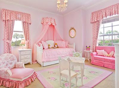 ห้องนอนเด็กหญิงน่ารักๆ