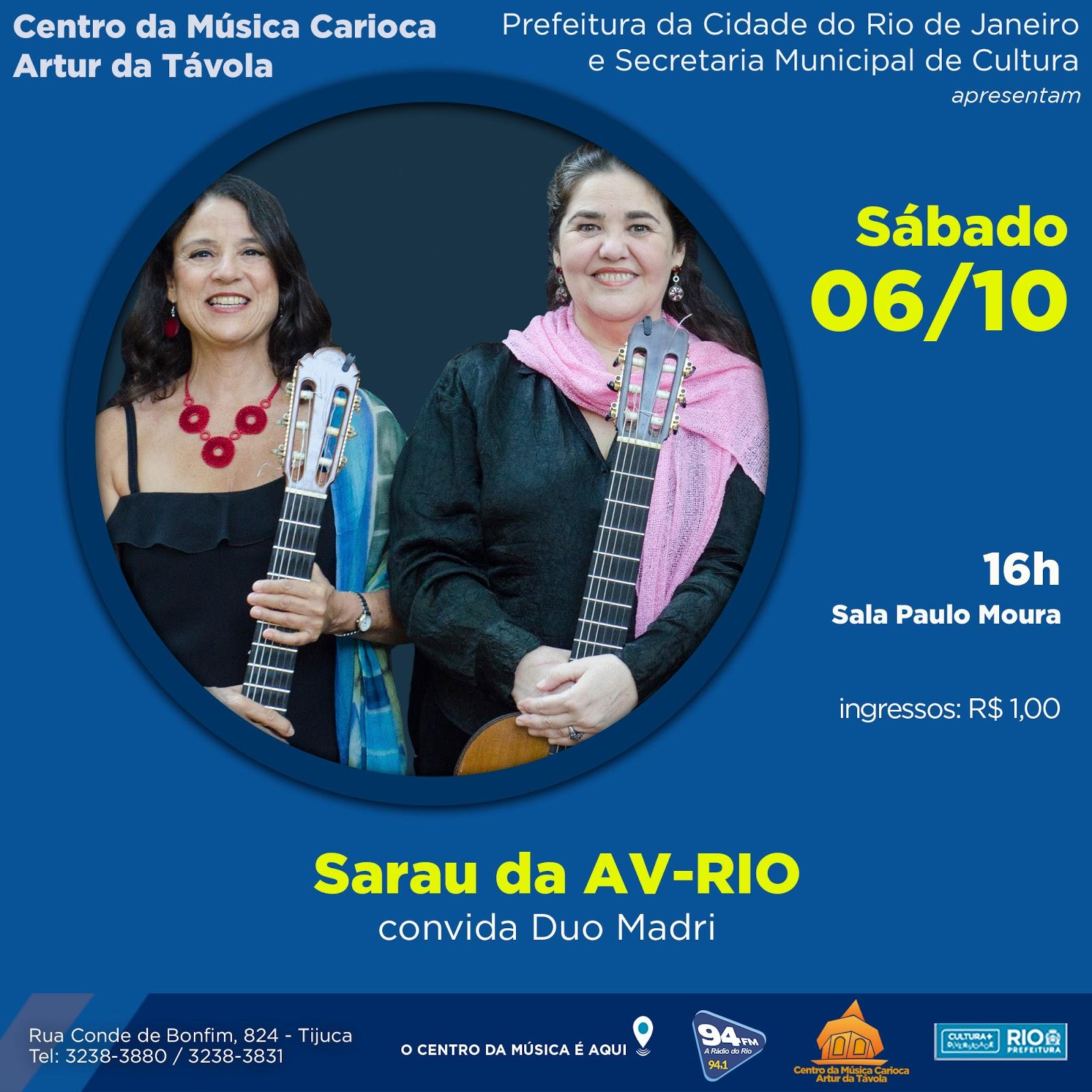 Programa o outubro 2018 centro da m sica carioca artur for Compositore tedesco della musica da tavola